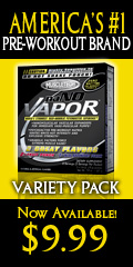 Muscle Tech NaNO Vapor Variety Pack