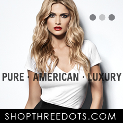 Three Dots Pure. American. Luxury