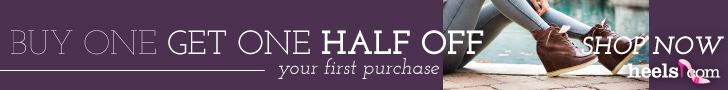Heels.com Buy 1 Get 1 Half your First Purchase