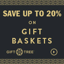 Save Up to 20% on Gift Baskets