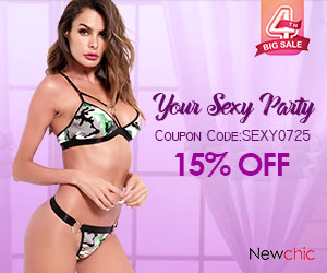 15% OFF Your Sexy Party300x250