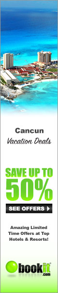 Vacation Deals for Cancun by BookIt.com®