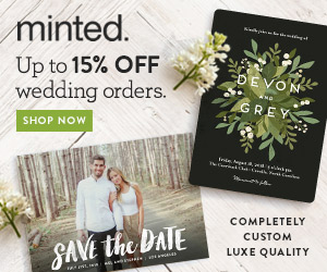 Minted's 3rd Annual Wedding Invitation Giveaway