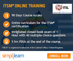 ITIL Intermediate RCV Training Online Course