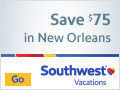 Jazz up your Vacation: Save $75 in New Orleans