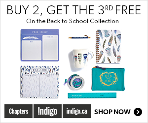 Buy 2, Get the 3rd Item Free on select Back to School items (Aug 13 - Sept 7)