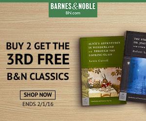 B&N Classics Buy 2 Get 3rd Free