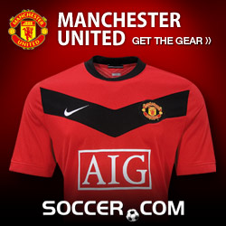 Manchester United Gear at SOCCER.COM