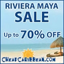 Riviera Maya up to 70% Off