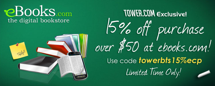 Tower Books Exclusive eBooks Coupon