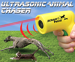 Ultrasonic Animal Chaser