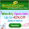 Up to 40% off at CrayolaStore.com!