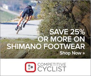 Save 25%+ on Shimano Footwear & Apparel