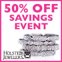 50% off Sitewide at Holsted Jewelers
