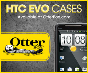 HTC EVO cases at OtterBox.com, get yours today!