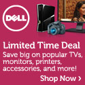 Save Big on popular TVs from Dell