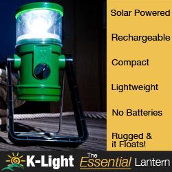 KLight Solar Lantern For Boaters
