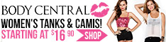 Shop Body Central for Women's Tanks & Camis!