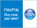 Buy Now Pay Later with Flex Pay at HSN