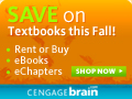 Save on Textbooks this Fall!