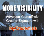 Advertise Yourself on MyCredentials