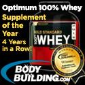 Optimum 100% Whey -Supp of the Year