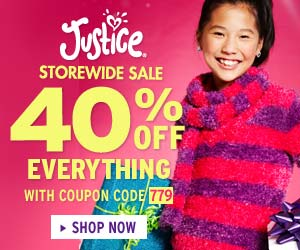 Justice 300x250 - Take 40% Off With Code 779