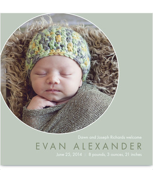Sample up to 3 Birth Announcements for FREE at Cardstore.com! Use coupon code CAK2963, Valid thru 8/