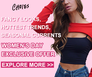Fancy Looks, Hottest Trends, Seasonal Currents! WOMEN'S DAY Exclusive Offer!