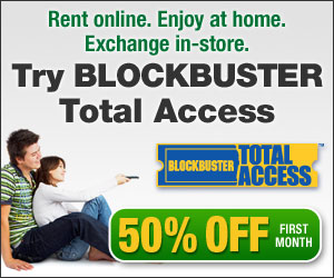 Blockbuster Total Access, 50% Off First Month, A $