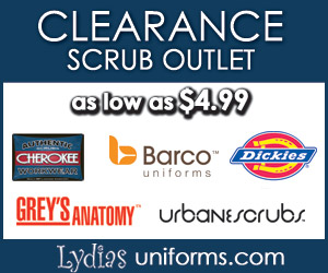 Lydia's Uniforms - Clearance Scrub Outlet