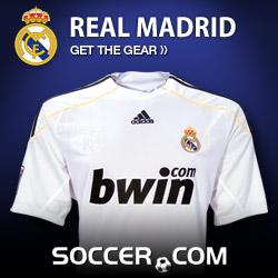 Real Madrid Gear at Soccer.com