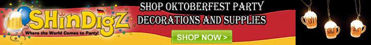 Shindigz Oktoberfest Party Supplies
