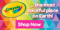Get 10% off $25 at Crayola.com!