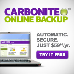Carbonite Discounts and Promos for a free online trial