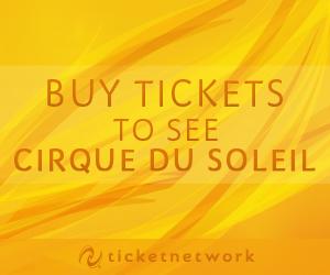 Buy tickets to see Cirque du Soleil
