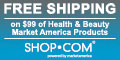 Free Shipping on $99 purchase of Market America health, beauty, skin care, nutrition, weight loss an