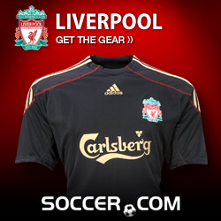Liverpool Gear at Soccer.com
