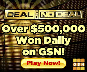 Deal or No Deal Game for Cash Prizes