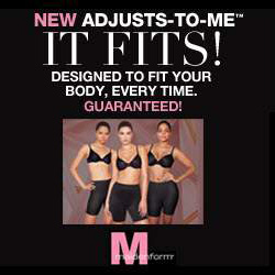 Adjusts-to-Me™ Bra, Shapewear and Panti Collection
