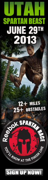 Utah Spartan Beast! June 29, 2013, Sign Up Now for this Reebok Spartan Race!