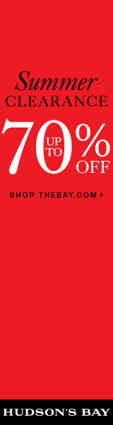 (7/25-8/24) Up to 70% off clearance at TheBay.com