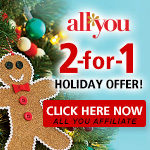 ALL YOU 2-For-1 Holiday Offer 150x150