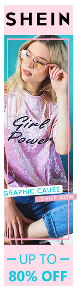 Girl Power! Graphic Cause Sale! All included items up to 80% at us.SheIn.com! Ends 7/24
