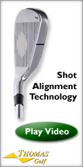 Custom Clubs w/ Patented Shot Alignment Tecnology