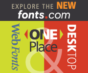 Find your TYPE at Fonts.com