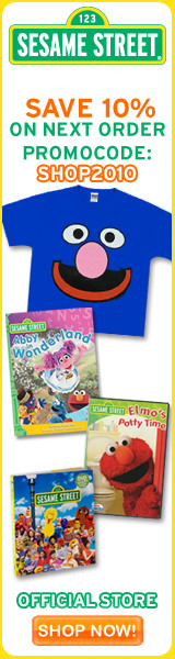 Save 10% in the Sesame Street Store!