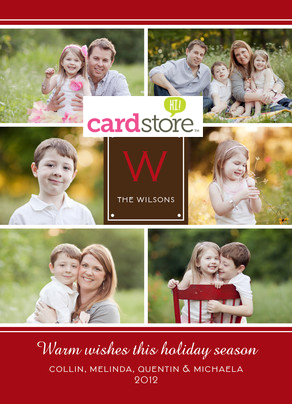 One-Day Only 12/3/12! 49¢ Holiday Cards & Invites + Free Shipping at Cardstore!