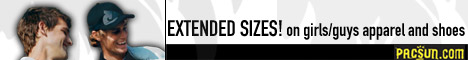 get extended sizes on apparel and shoes