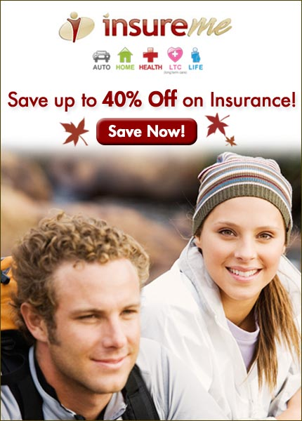 Save up to 40% off on Insurance